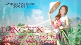 Dáng Sen ( Tiêu C4 - Sáo C5 ) | Minh Dương | Dạy Sáo Trúc