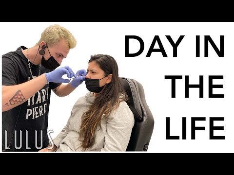 A Day In The Life Of A Piercer!