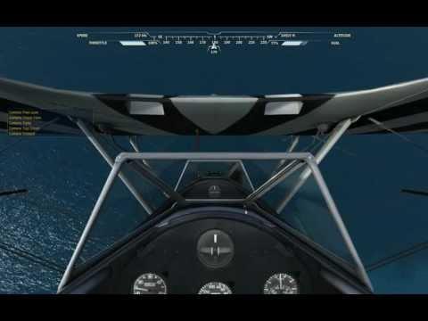 Microsoft Flight 2012 - Stearman Max Altitude and Speed