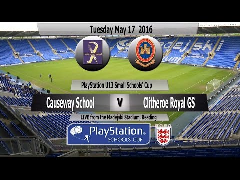 Full Match   PlayStation U13 Small Schools Cup   The Causewa
