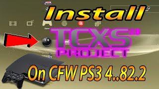 TCXS PROJECT 2.1 FreeShop Install On Jailbroken PS3 ( CFW 4.82.2 )