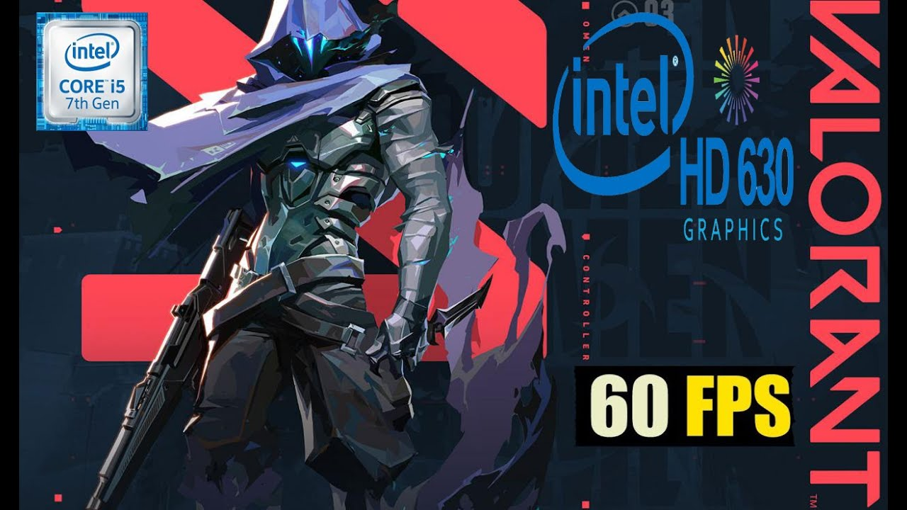 VALORANT/ intel HD graphics 630- i5 7400/ 8GB RAM - YouTube