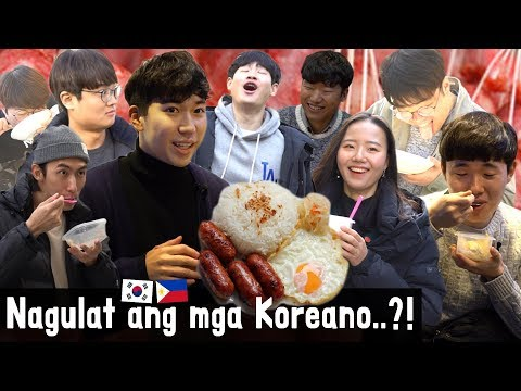 Koreans react to Longganisa!?
