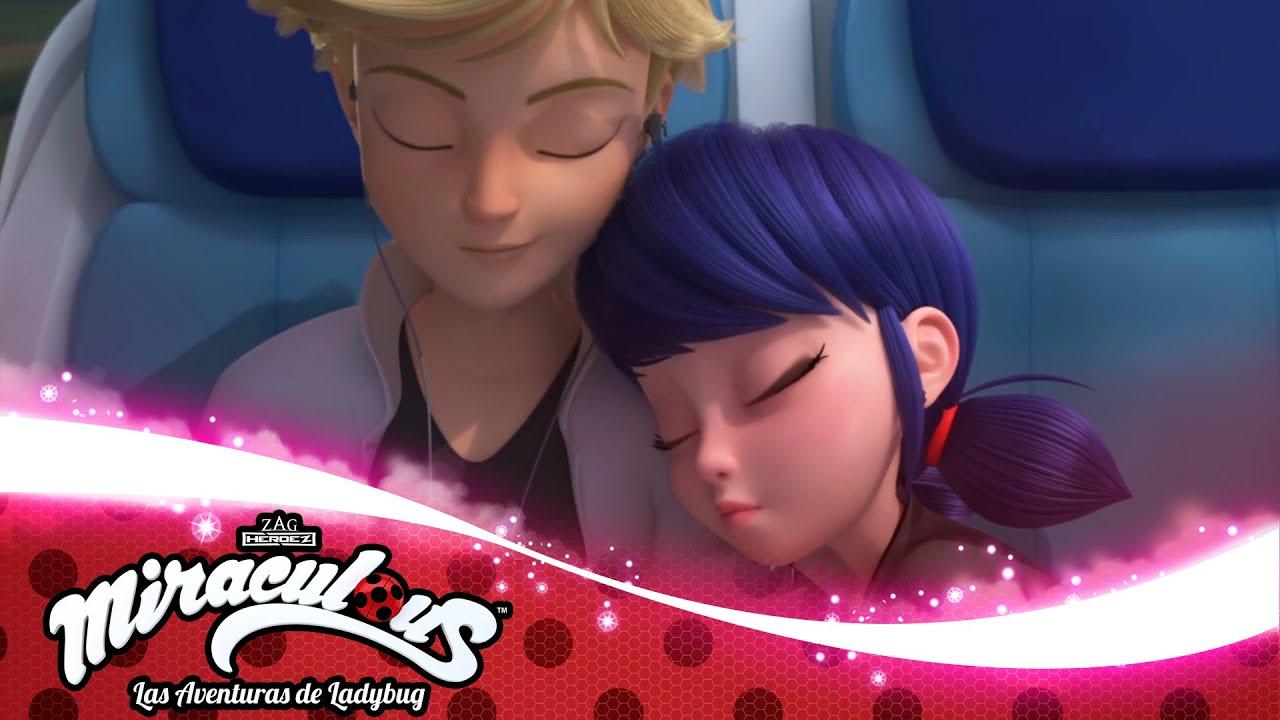MIRACULOUS | 🐞 STARTRAIN - Marinette y Adrien 🐞 | Las Aventuras de Ladybug