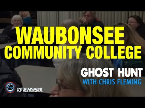 Waubonsee Community College Ghost Hunt with Chris Fleming