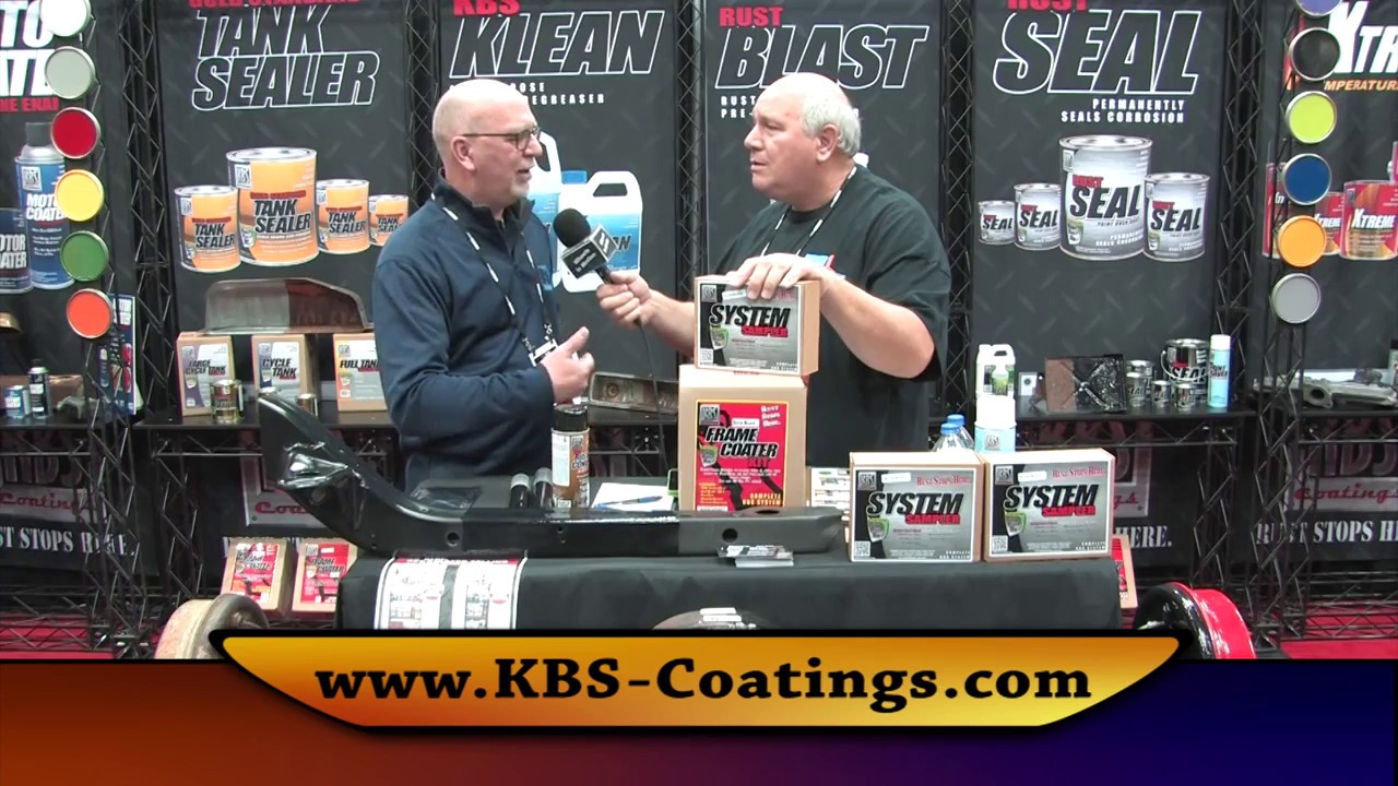KBS Coatings on Wheels In Motion at PRI Show 2016