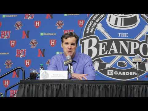 BU Hockey - Coach Quinn Postgame (2/12/18 vs Northeastern, Beanpot Final)