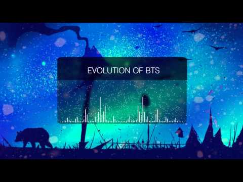 EVOLUTION OF BTS 방탄소년단