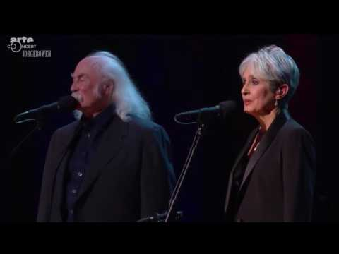 Joan Baez and David Crosby Sing Blackbird at The Beacon - 1/27/2016
