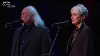 Joan Baez and David Crosby Sing Blackbird at The Beacon - 1/27/2016