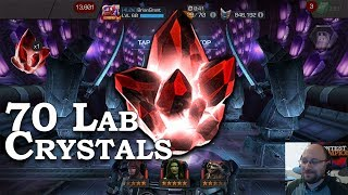 5-Stars + 70 Lab Crystals Opening | Marvel Contest of Champions