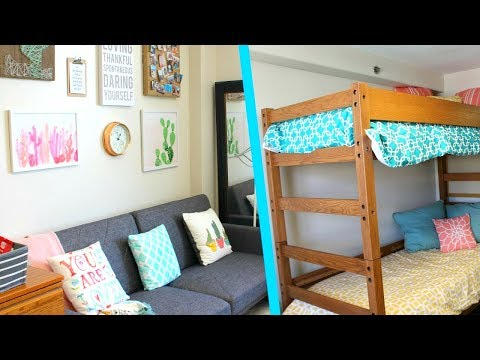 Megan and Ciera's College Dorm Tour