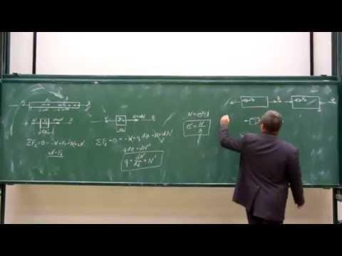 Сопротивление материалов. Лекция 2 (растяжение/сжатие).