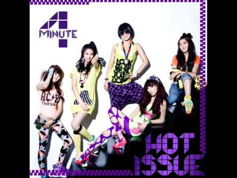 4Minute Hot Issue MP3