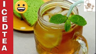 WORLD BEST EASY WAY ICED TEA RECIPE || HOW TO MAKE ICED TEA