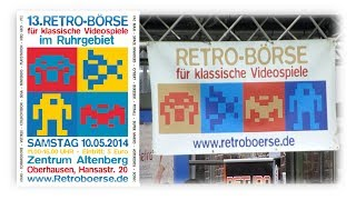 13. Retro-Börse in Oberhausen 10.05.2014 | Impressionen & Sonderausstellung | MrVenom1974
