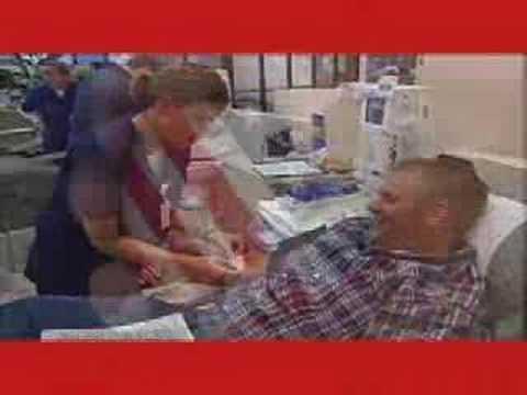 Chris Simms Blood Donation PSA