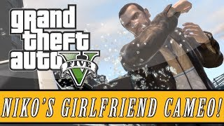 Grand Theft Auto 5 | Niko Bellic's Girlfriend 'Michelle' Cameo Easter Egg! (GTA 5 Easter Eggs)
