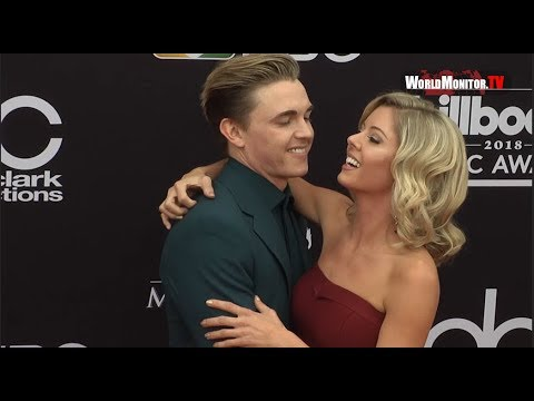 Jesse McCartney, Katie Peterson 2018 Billboard Music Awards