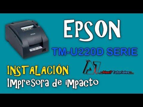 como-instalar-impresora-epson-tm-u220d-modelo-m188d