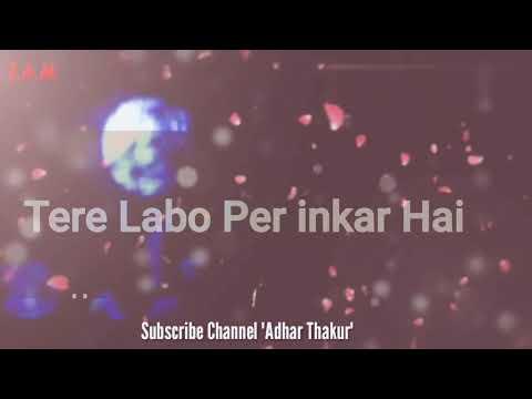 Tune Mujhe Pehchana Nahi (RC) With Lyrics