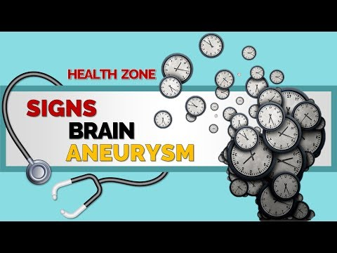 9 Warning Signs and Symptoms of a Brain Aneurysm