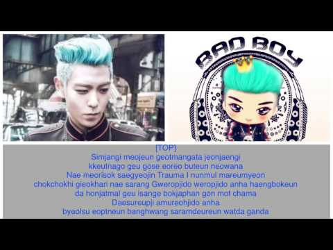 [LYRICS] BIGBANG - BLUE