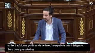 Pablo Iglesias alaba el discurso