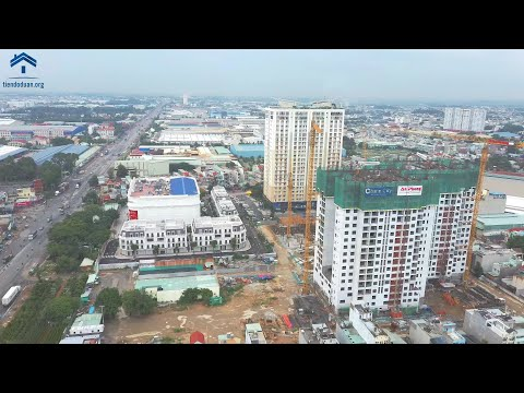 Tiến Độ Dự Án Charm City Tháng 09/2020 - Đổ Sàn Tầng 19