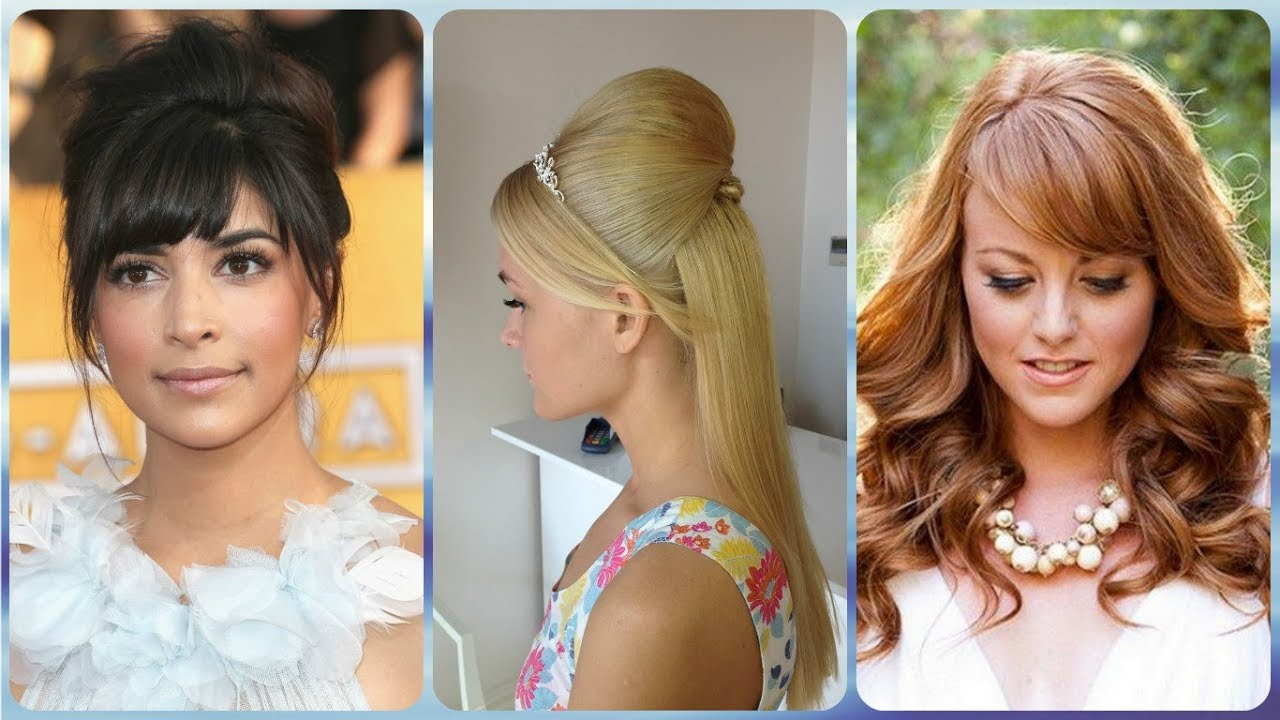 Top 20 Wedding Hairstyles For Short Hair With Fringe Youtube