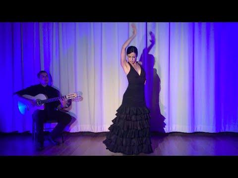 Siguiriyas Flamenco Dance - Arleen Hurtado - Guitar - Ben Woods - Flamenco L.A.