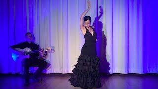 Siguiriyas Flamenco Dance - Arleen Hurtado - Guitar - Ben Woods - Flamenco L.A.