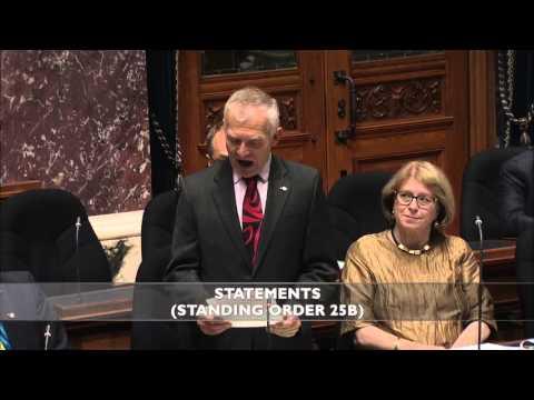 MLA Scott Fraser's statement on Disability Employment Awareness month