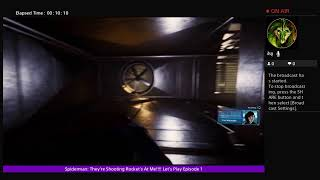 Spiderman: They're Shooting Rocket's At Me!!!! Let's Play Episode 1