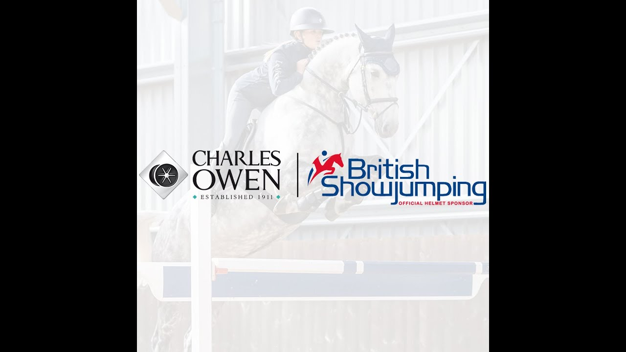 Charles Owen becomes first Official Helmet Sponsor in new partnership with British Showjumping