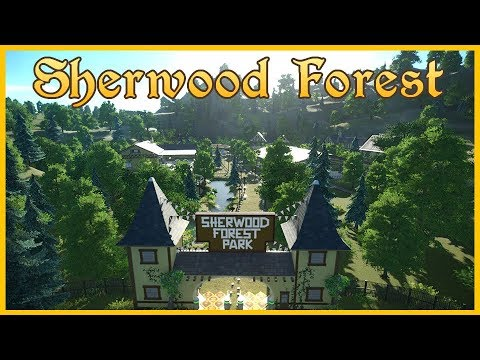 Sherwood Forest - Special Guest Wikz! Scenario Spotlight 01 #PlanetCoaster