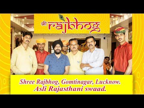 Rajasthan In Lucknow | Shree Rajbhog | Rajasthani Thali | Foodie Sodi