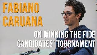 Fabiano Caruana on winning the 2018 Candidates' Tournament