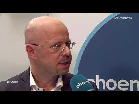 Andreas Kalbitz (AfD Brandenburg) im Interview auf dem AfD-Parteitag