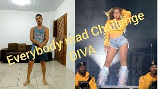 Beyoncé Diva - Coachella - everybody mad - dance break cover - Challenge