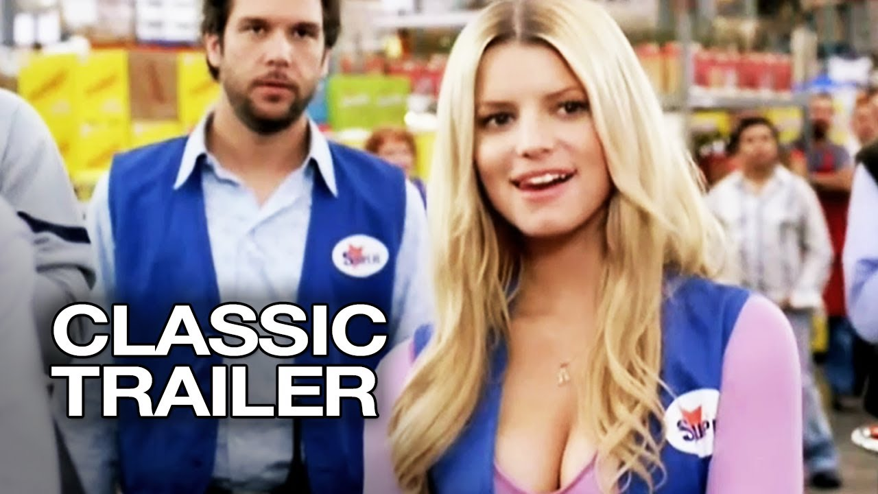 employee of the month 2006 official trailer 1 jessica simpson