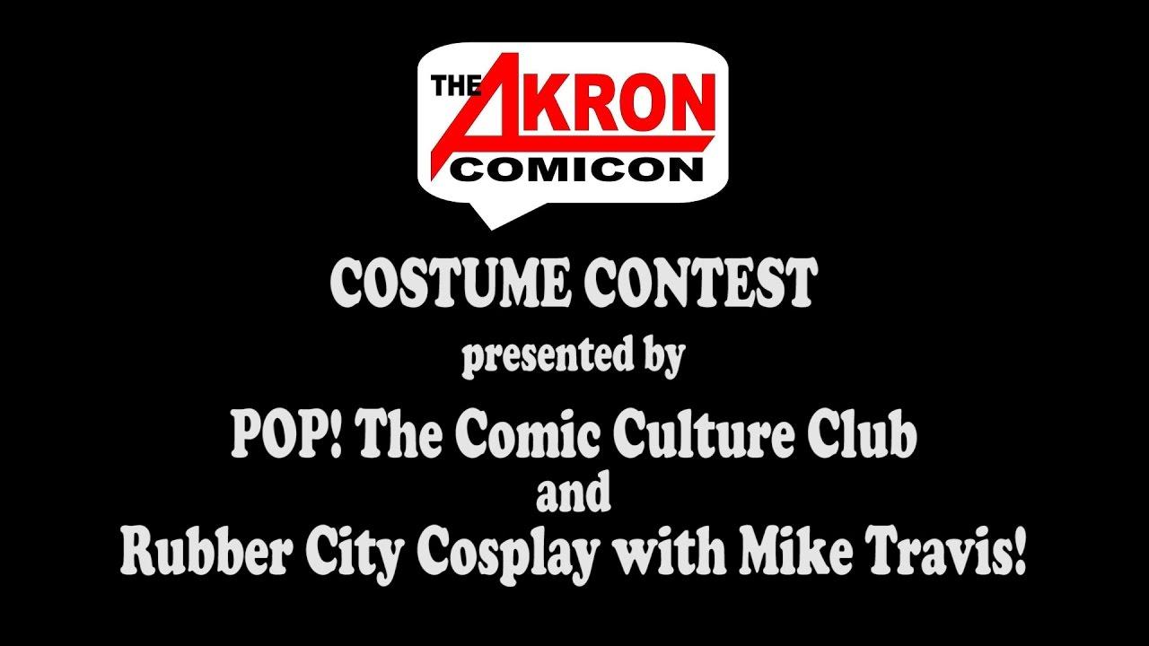 Costume Contest – Akron Comicon 2016