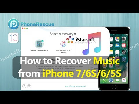 How to Recover Music from iPhone 7/6S/6/5S with iOS 10