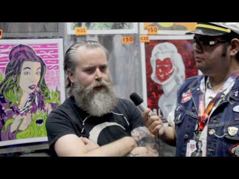 Brian Ewing Interview SDCC 2017