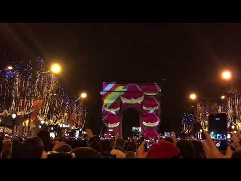 유럽여행_2018년 12월 31일 파리 개선문