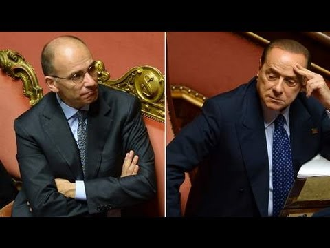 Italian PM Wins Vote After Berlusconi U-Turn 02/10/2013