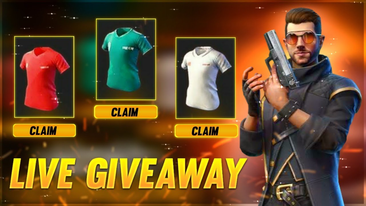 10 DJ ALOK AND 10 BOT JERSEY GIVEAWAY LIVE | FREE FIRE LIVE