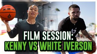 KENNY CHAO VS WHIT3 IVERSON FILM BREAKDOWN! REMATCH MARCELAS HOWARD! R2BBALL !! DEVINTHELAB !!