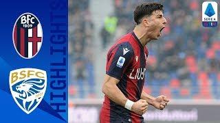 Bologna 2-1 Brescia | Bologna Come from Behind to Win! | Serie A TIM