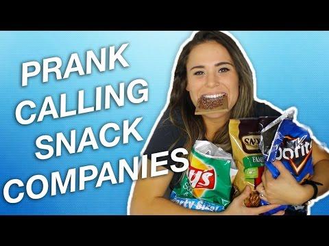 PRANK CALLING SNACK COMPANIES